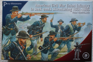 Perry Miniatures 28mm ACW-120 ACW Union Infantry 1861-65